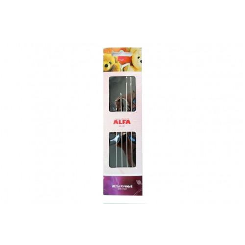 Иглы ручные ALFA для кукол AF-220