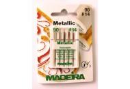 Иглы Metallic №90 5шт