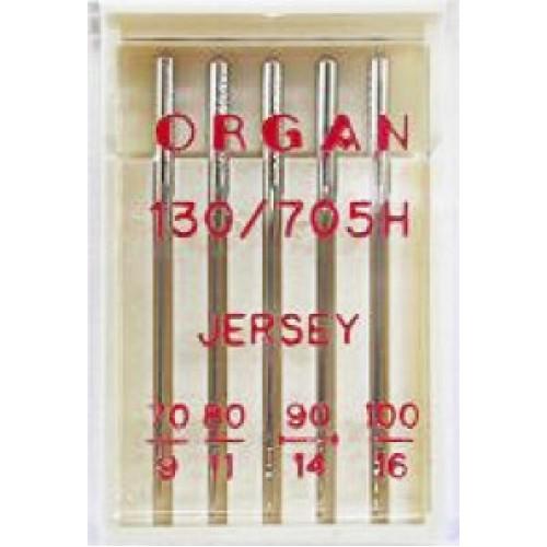 Иглы Organ Jersey для трикотажа и вязаных тканей