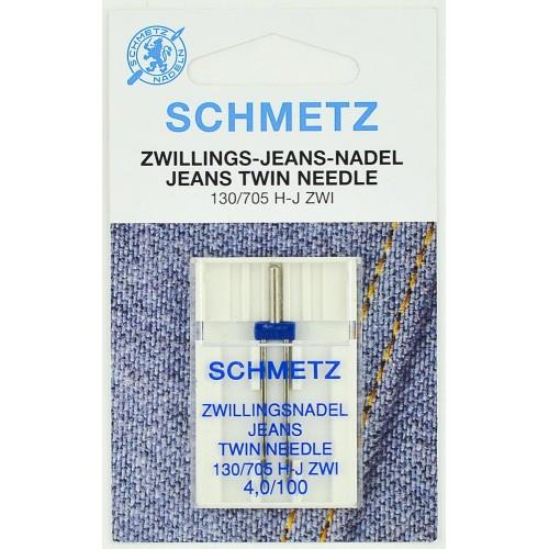 Игла Schmetz двойная для джинса