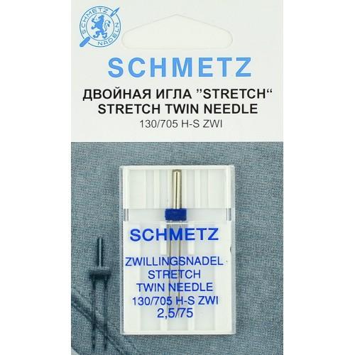 Игла Schmetz двойная для трикотажа