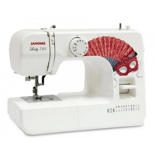 Швейная машинка Janome Lady 725