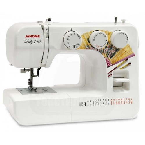 Швейная машинка Janome Lady 745