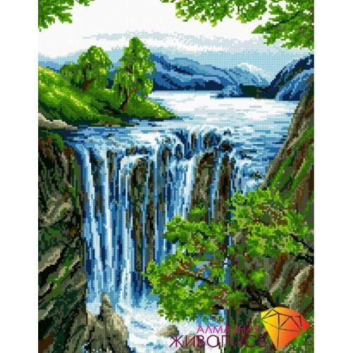 """Картина стразами """"Водопад"""""""
