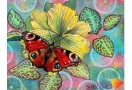 """Картина стразами """"Бабочка"""""""