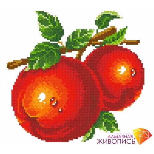 """Картина стразами """"Красные яблоки"""""""