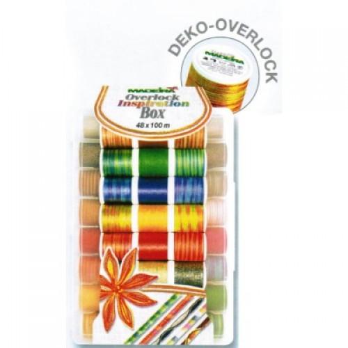 Нитки Madeira Deco-Overlock 8048