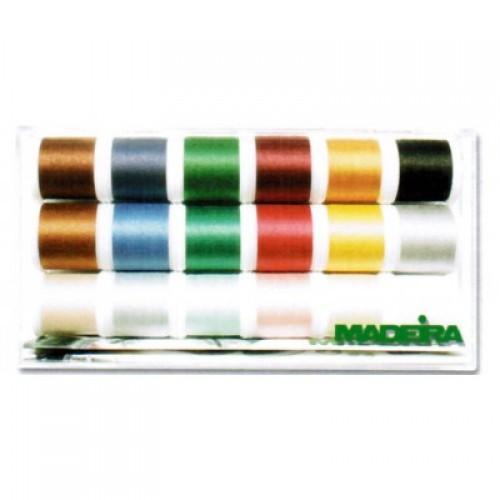 Нитки Madeira Cotona №80 18шт по 200м