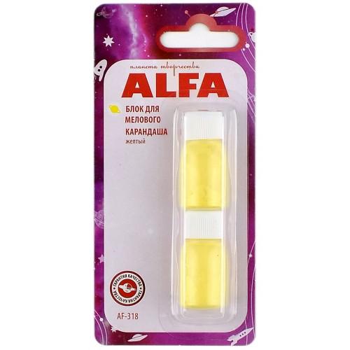 Блок запасной для мелового карандаша ALFA AF-318