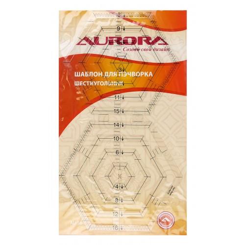 "Шаблон для пэчворка ""шестиугольник"" AU-S6"